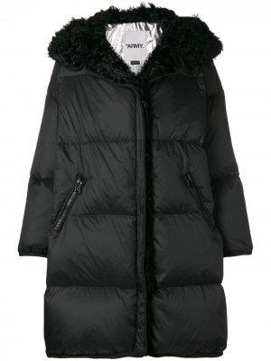 Kalgan coat Yves Salomon Army. Цвет: черный