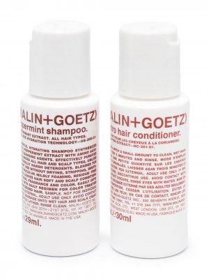 Набор средств для ухода за волосами MALIN+GOETZ. Цвет: белый