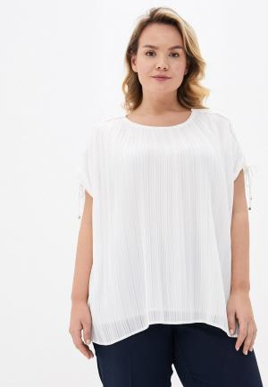 Блуза Persona by Marina Rinaldi. Цвет: белый