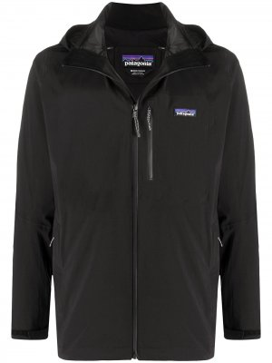 Непромокаемая куртка Quandry Patagonia. Цвет: черный