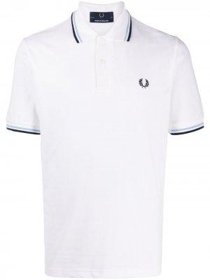 Рубашка поло с короткими рукавами FRED PERRY. Цвет: белый