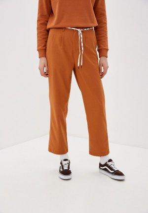 Брюки Vans. Цвет: оранжевый