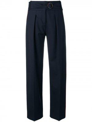 Зауженные брюки Victoria Beckham. Цвет: синий