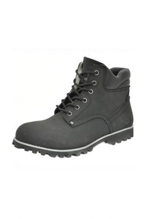 Ботинки FRONT BY ASCOT. Цвет: black