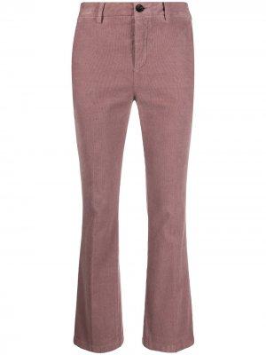 Вельветовые брюки bootcut Department 5. Цвет: розовый