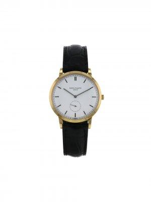 Наручные часы Calatrava pre-owned 33 мм 1988-го года Patek Philippe. Цвет: белый