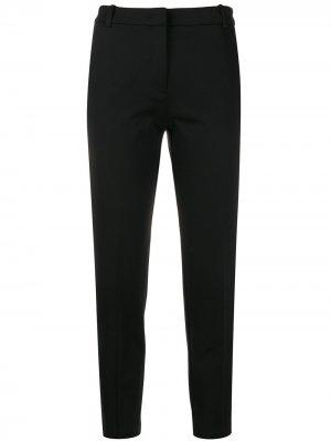 Укороченные брюки Pinko. Цвет: черный