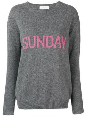 Sunday jumper Alberta Ferretti. Цвет: серый