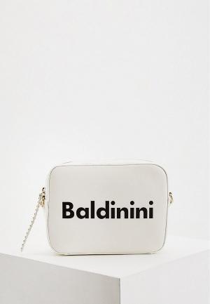 Сумка Baldinini. Цвет: белый