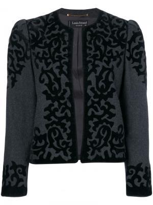 Пиджак Louis Feraud Pre-Owned. Цвет: серый