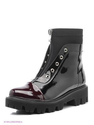 Ботинки Amazonga. Цвет: черный