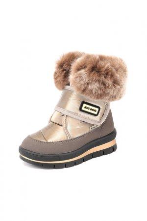 Ботинки Jog Dog. Цвет: золотой флэш