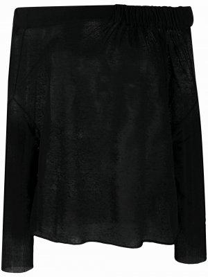 Джемпер с открытыми плечами Pierantoniogaspari. Цвет: черный