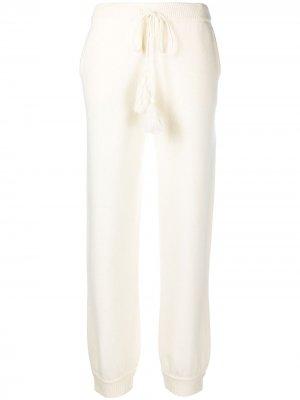 Спортивные брюки Tristan LoveShackFancy. Цвет: нейтральные цвета