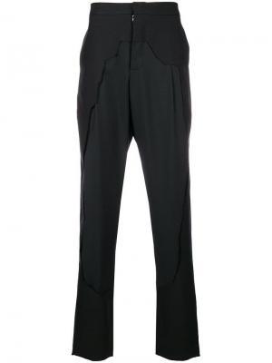 Framed trousers Chalayan. Цвет: черный
