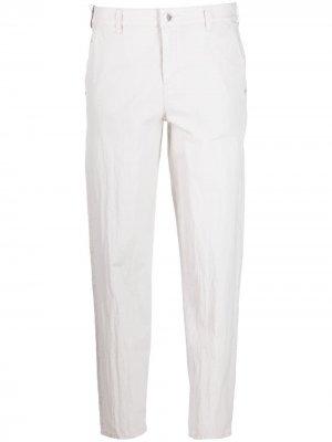 Укороченные брюки карго Emporio Armani. Цвет: серый