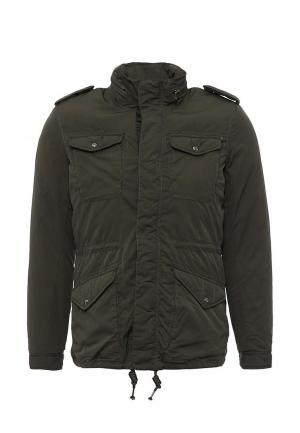 Куртка утепленная Alcott. Цвет: хаки
