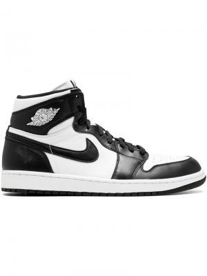Кроссовки Air  1 Retro Jordan. Цвет: черный