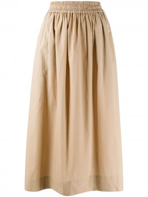 Пышная юбка миди Norse Projects. Цвет: нейтральные цвета