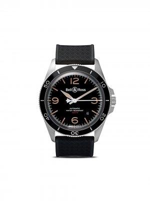 Часы BR V2-92 Steel Heritage 41 мм Bell & Ross. Цвет: camo and черный