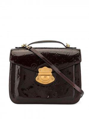 Сумка Vernis Mirada с ремешком и ручками Louis Vuitton. Цвет: коричневый