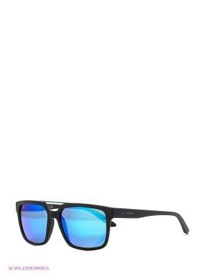 Очки солнцезащитные PETROLHEAD ARNETTE. Цвет: черный