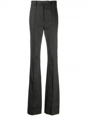 Расклешенные брюки с завышенной талией Ssheena. Цвет: черный