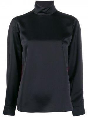 Блузка с принтом Cédric Charlier. Цвет: черный