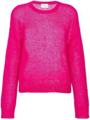 Пуловер Rhea Simon Miller. Цвет: розовый