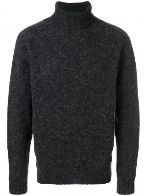 Howlin свитер с отворотной горловиной Howlin'. Цвет: серый