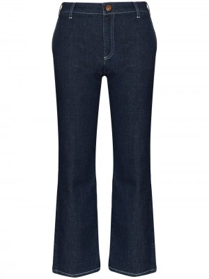Укороченные расклешенные джинсы See by Chloé. Цвет: синий