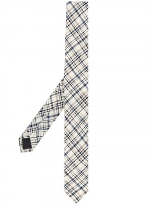 Клетчатый галстук 1990-х годов Gianfranco Ferré Pre-Owned. Цвет: нейтральные цвета