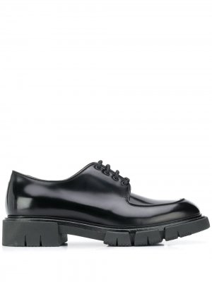 Туфли на рифленой подошве Fratelli Rossetti. Цвет: черный