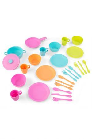Кухонный игровой набор посуды Kidkraft. Цвет: бордовый