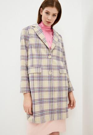 Пальто Tom Tailor Denim. Цвет: разноцветный