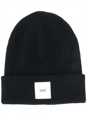 Кашемировая шапка бини Watchcap OAMC. Цвет: черный
