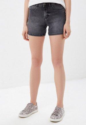 Шорты джинсовые Jacqueline de Yong. Цвет: серый