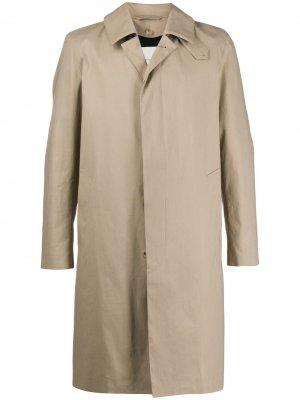DUNKELD Fawn Rainproof Cotton 3/4 Coat|GM-1001FD Mackintosh. Цвет: нейтральные цвета