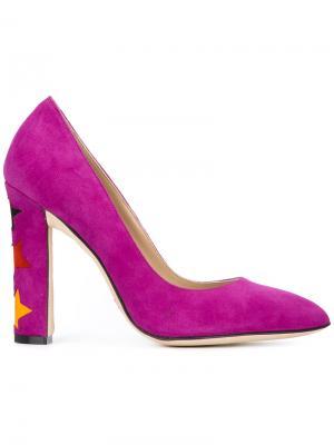 Туфли Cinderella Paula Cademartori. Цвет: розовый и фиолетовый
