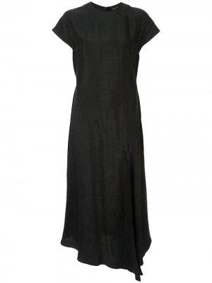 Платье миди Hydra Karen Walker. Цвет: зеленый