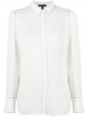 Рубашка с длинными рукавами Escada. Цвет: белый
