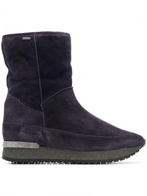 Ботинки на платформе Hogl. Цвет: синий