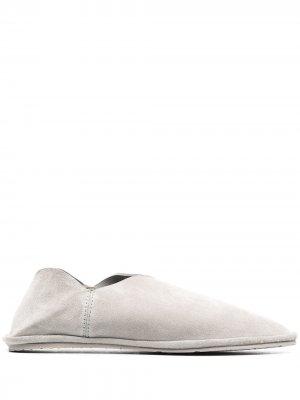 Слиперы Latifa с заостренным носком Pedro Garcia. Цвет: серый