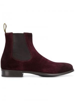 Almond toe Chelsea boots Doucal's. Цвет: красный