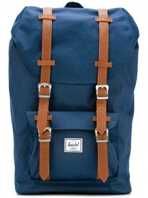 Рюкзак с ремешками Herschel Supply Co.. Цвет: синий