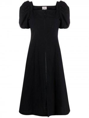 Платье с квадратным вырезом Baum Und Pferdgarten. Цвет: черный