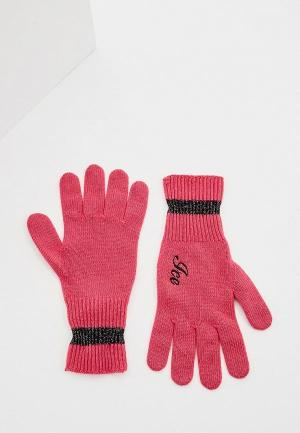 Перчатки Ice Play. Цвет: розовый