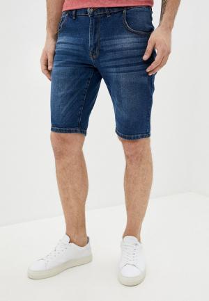 Шорты джинсовые Hopenlife. Цвет: синий