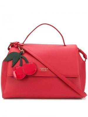 Hanging cherry tag tote Tosca Blu. Цвет: красный