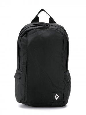 Рюкзак с нашивкой-логотипом Marcelo Burlon County Of Milan Kids. Цвет: черный